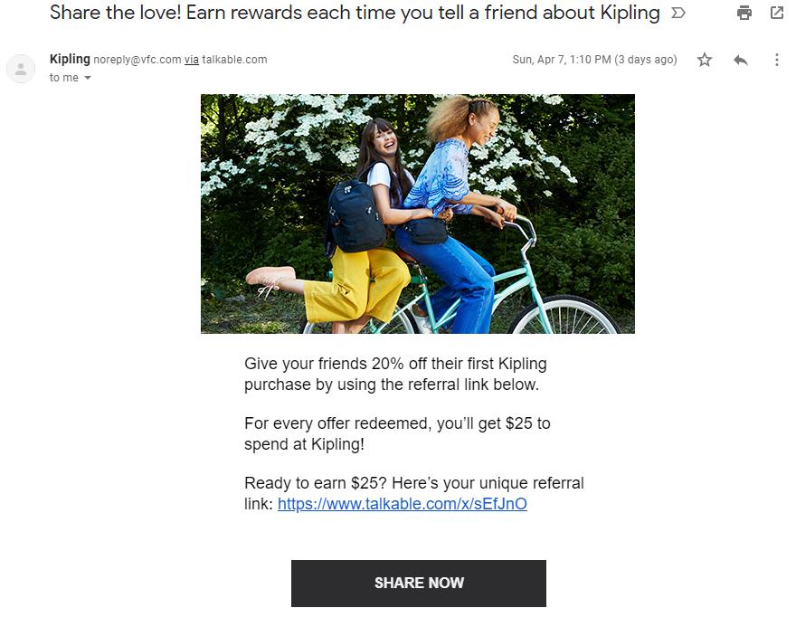 emails reasons activetrail kipling