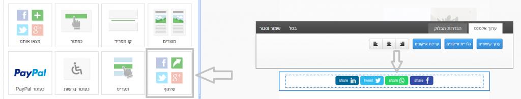 עדכון גרסה שיתוף בוואצאפ אקטיב טרייל