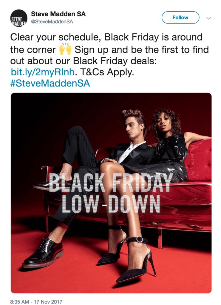 steve madden black friday ad