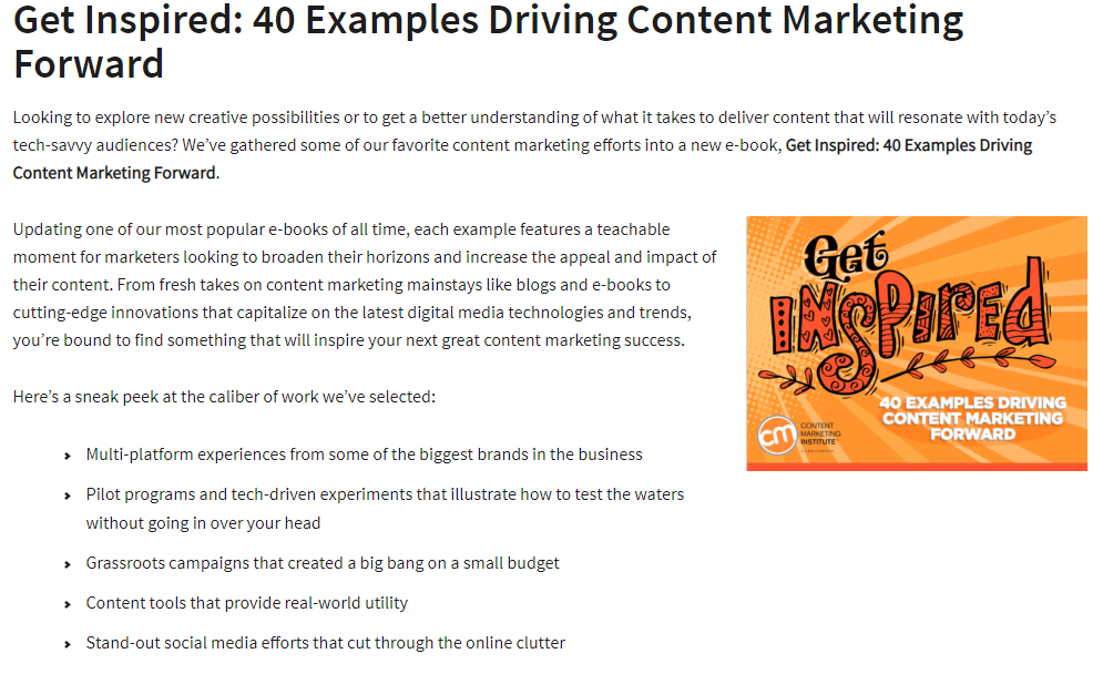 case study content marketing example