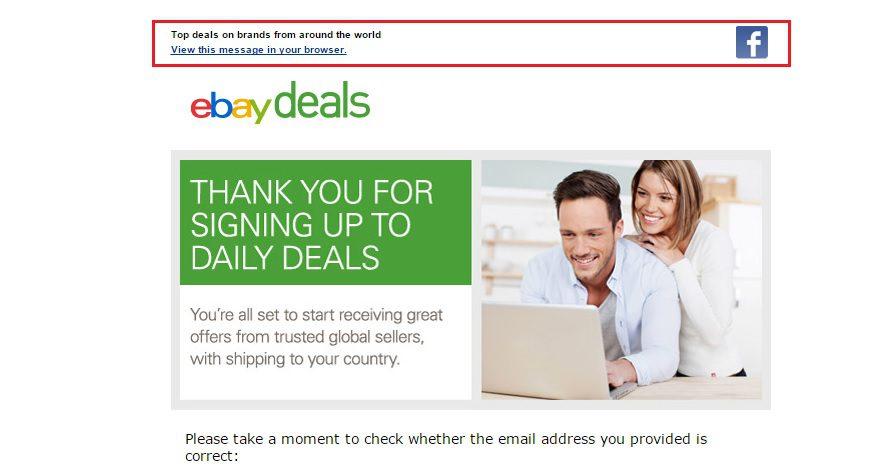ebay preheader