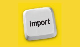 Importation de contenu