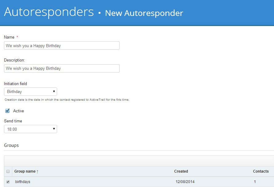 Autoresponder software