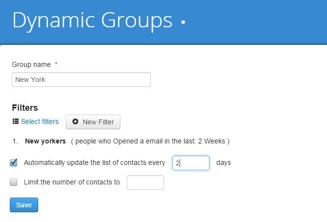 dynamic groups