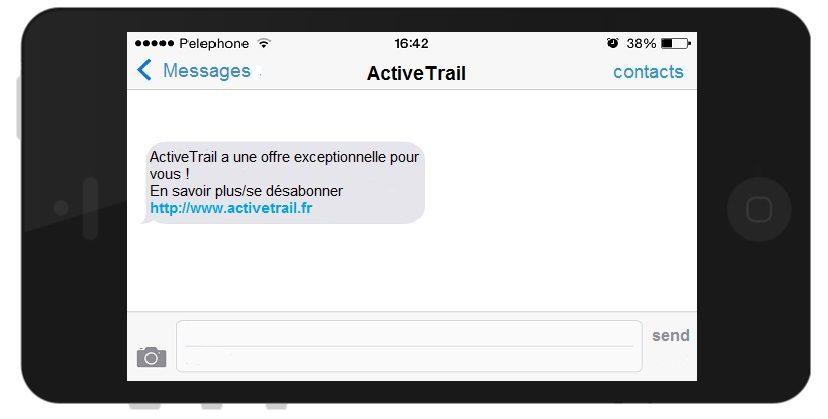 Système d'envoi de SMS