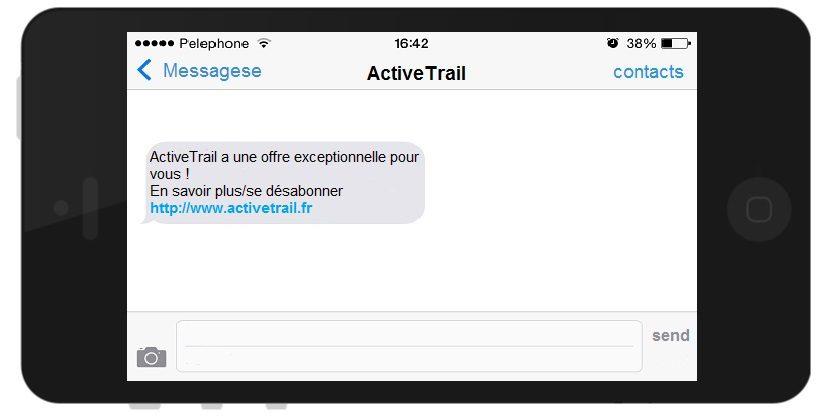 Système d'envoi de SMS - campagne sms