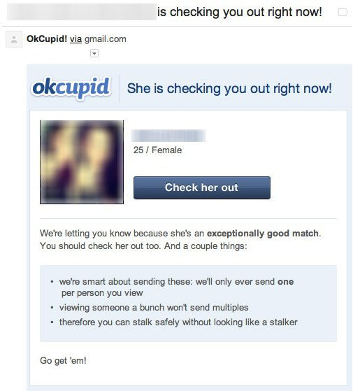 triggers in a dating site