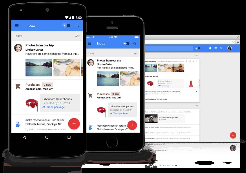 האפליקציה החדשה של גוגל - inbox