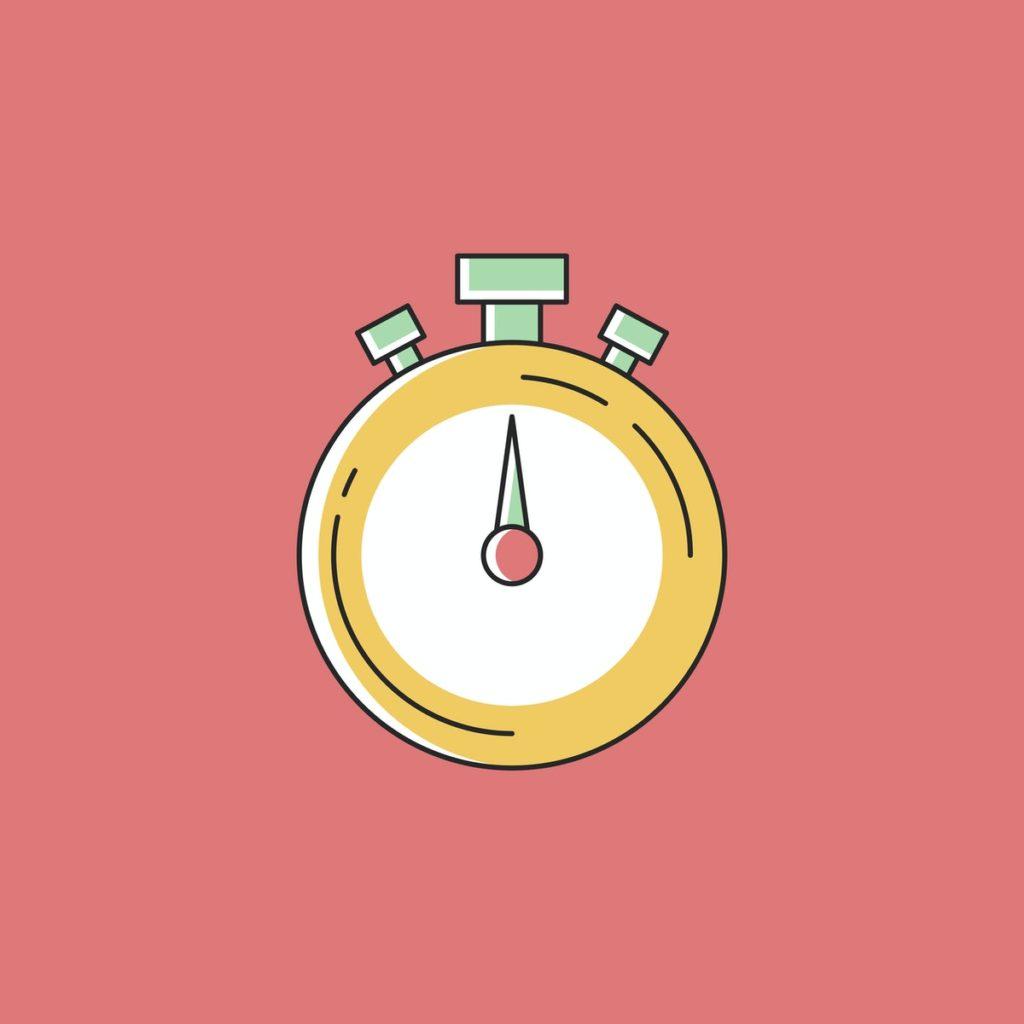 illustration of a timer