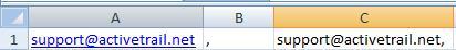 Excel B column