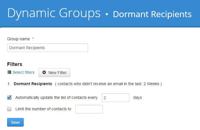 Mailing List Dynamic Groups