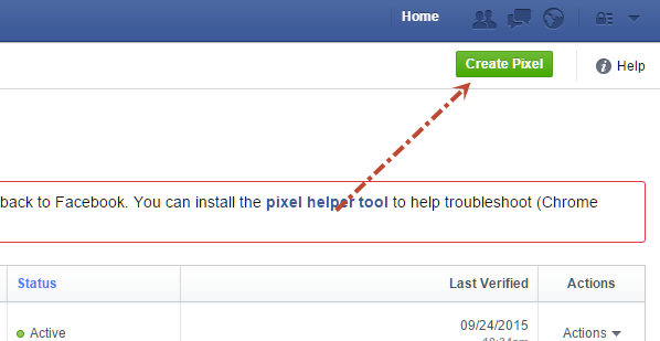 create pixel