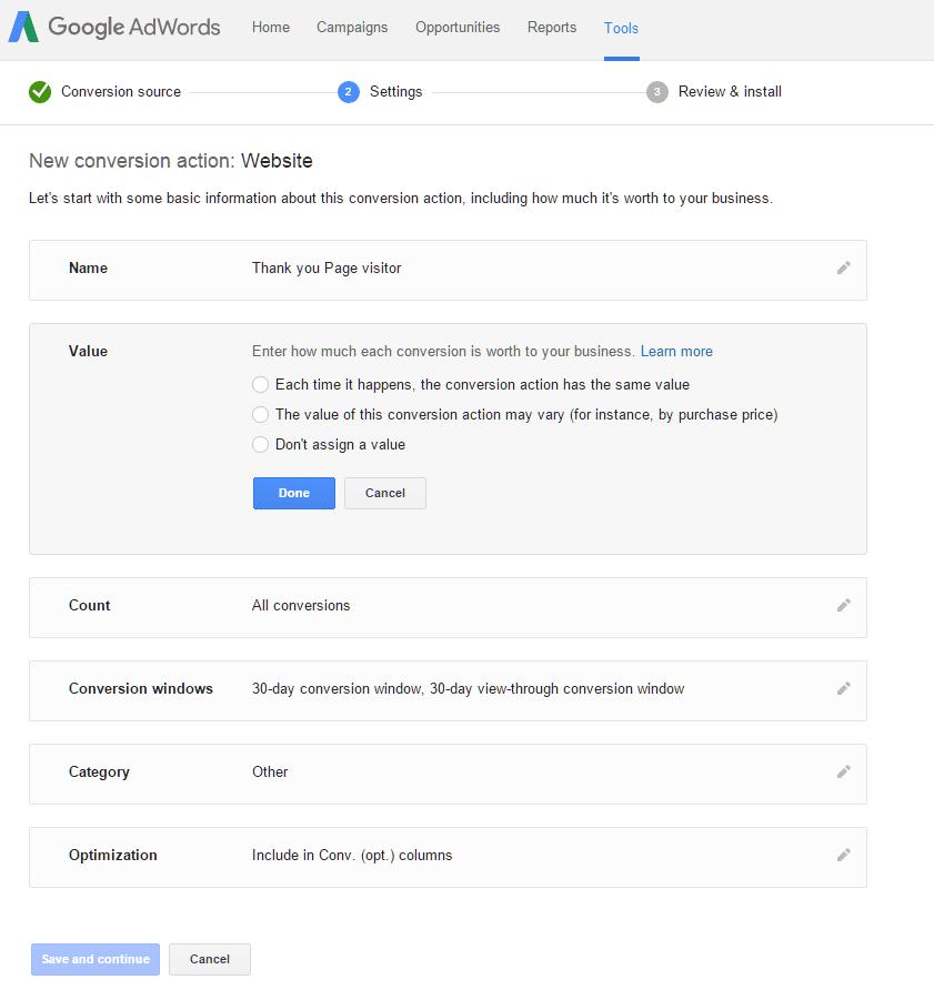 הטמעת קוד גוגל אדוורדס בדפי נחיתה