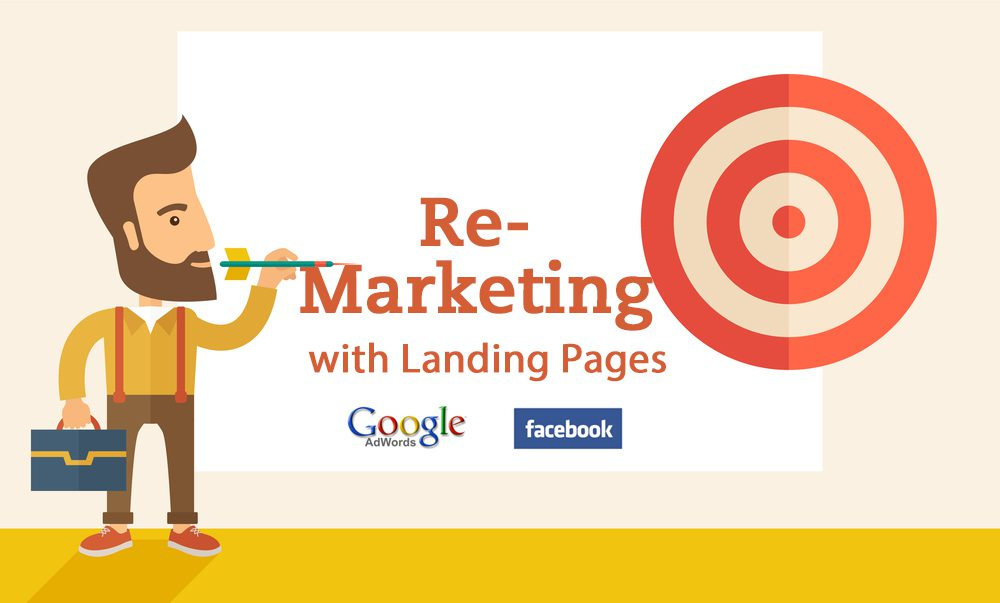 remarketing landing pages