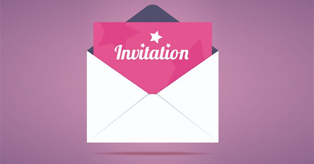 how to create a successful event invitation email i activetrail