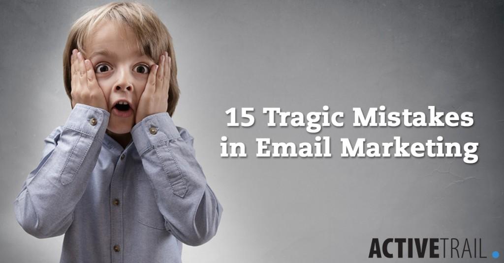15 errores fatales para el email marketing