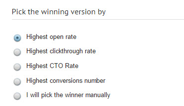 pick the winning version