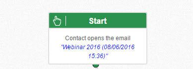 contact opens the email