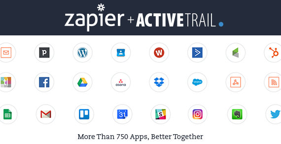 Zapier+ActiveTrail Integrations