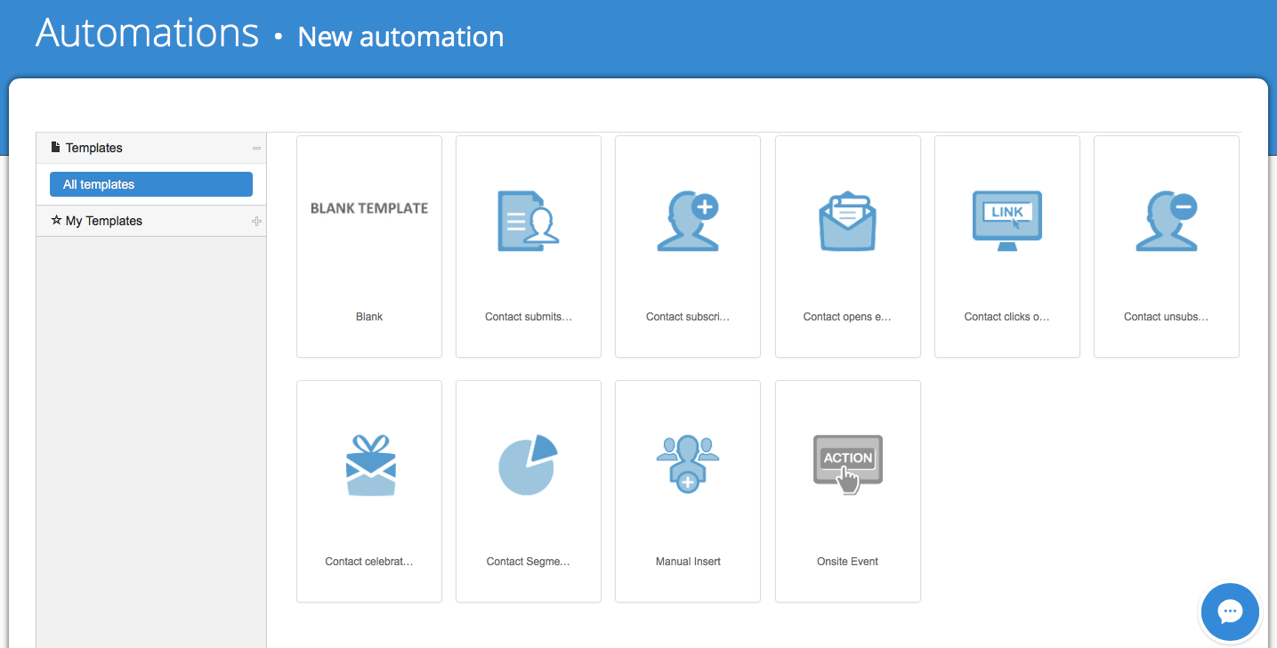 New automation