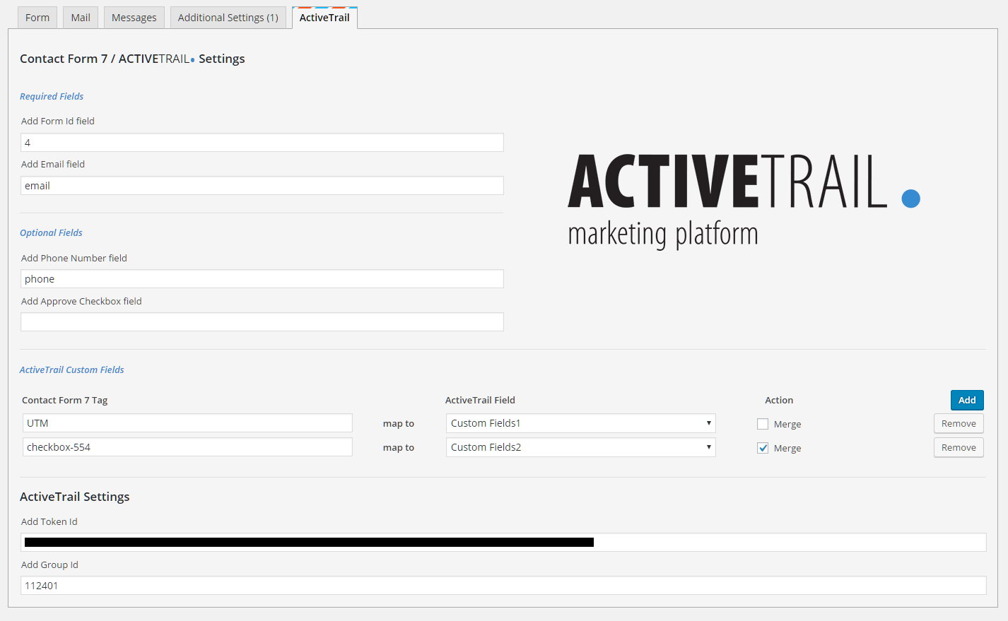 התממשקות פשוטה ל-Contact Form 7