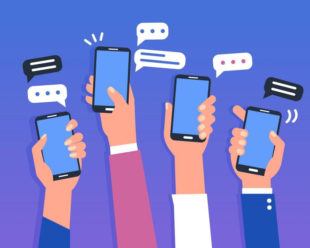 שליחת הודעות SMS