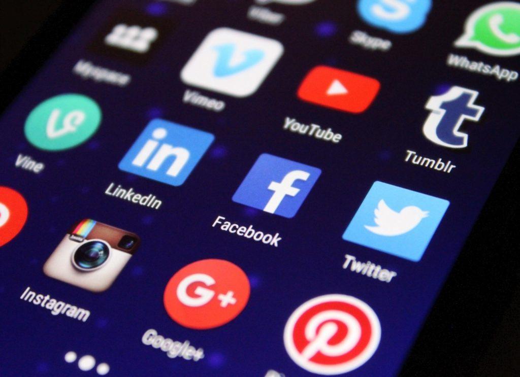 Social Media Icons by Pexels