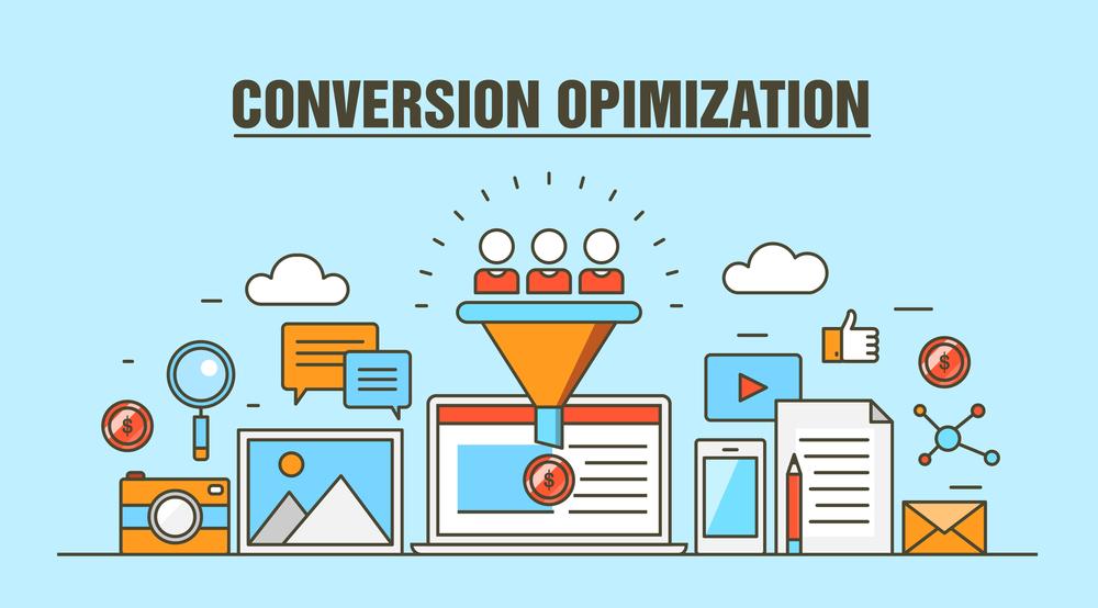 Conversion optimization process - illustration
